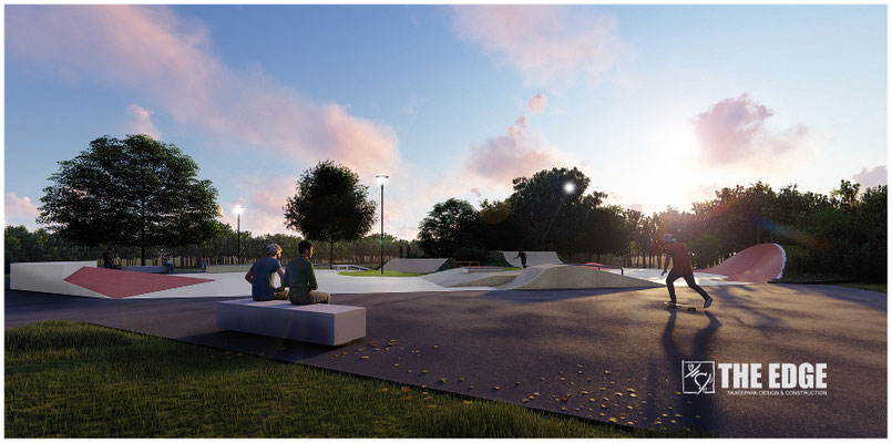 THE EDGE Skatepark Design & Construction - Skatepark béton Mayenne