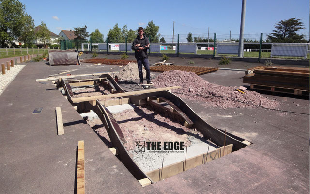 THE EDGE Skatepark Design & Construction - Skatepark Agon Coutainville