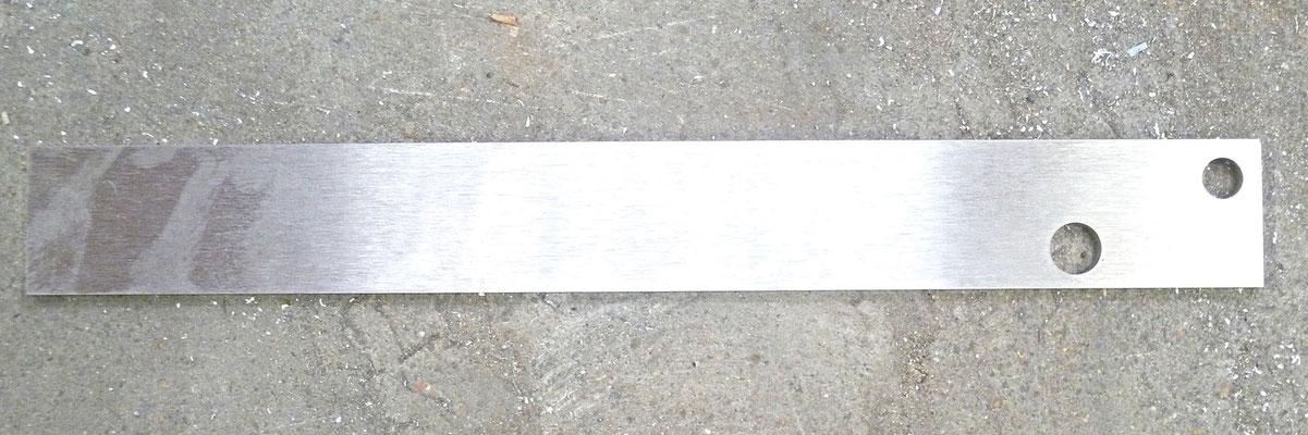 Bras de couvercle en inox 304L, épaisseur 5 mm