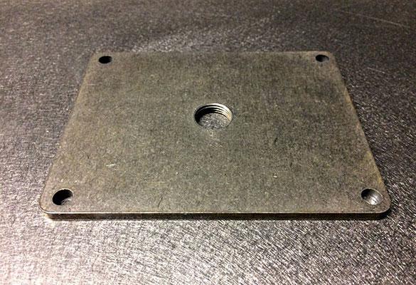 Couvercle de carter en acier E24, 5 mm