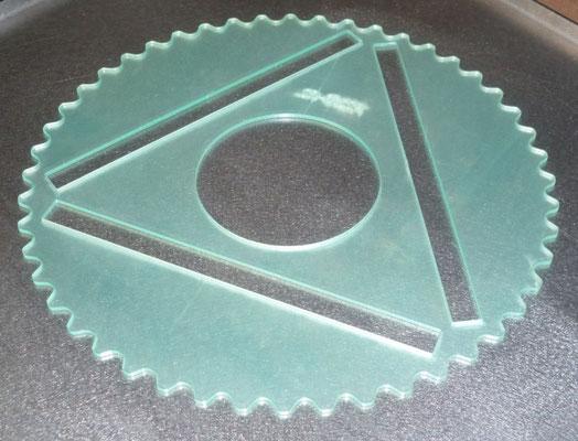 Découpe plexiglas, épaisseur 2,5 mm