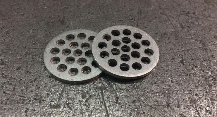 Grille en Inox 304L 2B, épaisseur 1,5 mm