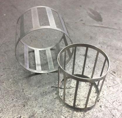 Pièces cylindriques : roulées, soudées et meulées
