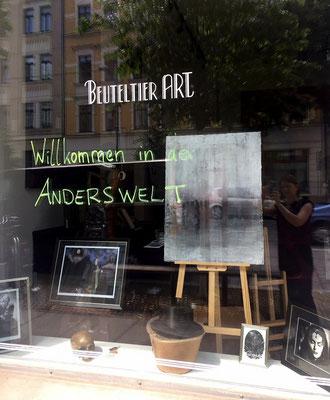 Willkommen in der Anderswelt - Galerie Schaufenster zum WGT