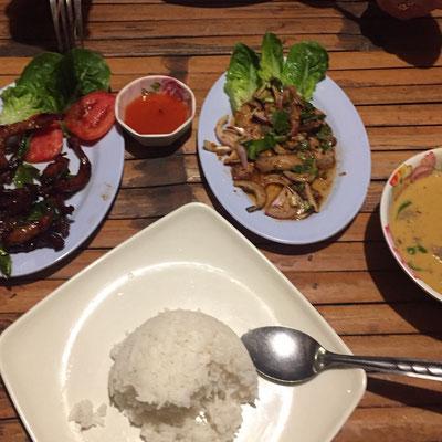 Immer lecker - Essen in Thailand