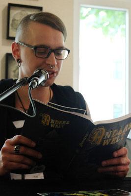 Benjamin Schmidt liest