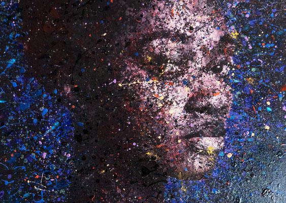 """Gemälde """"The circinus"""" von Adam,  Foto: Jea Pics"""