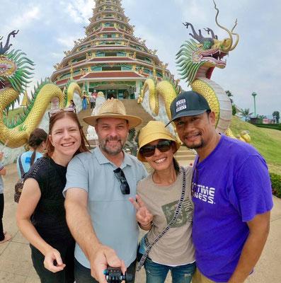 Mit Add und Aid auf Tempeltour