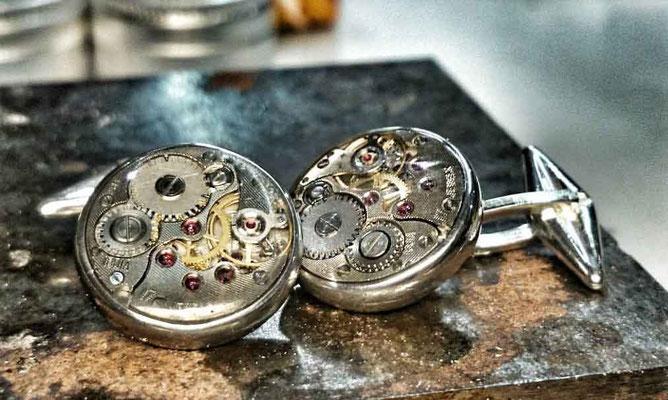 Giorgio Catta - Handgefertigter Uhrwerk Schmuck