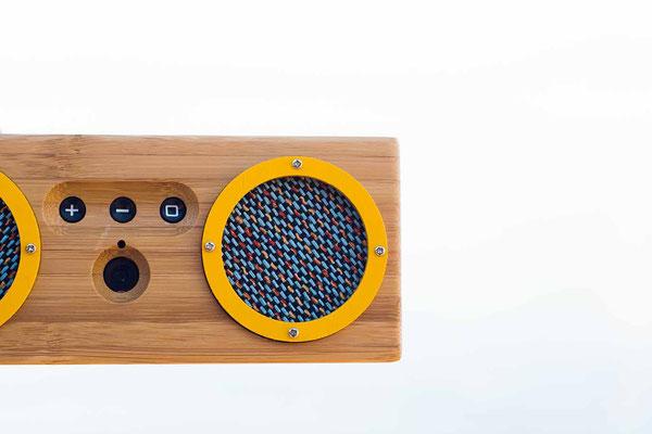 Bluetooth Box in Gelb