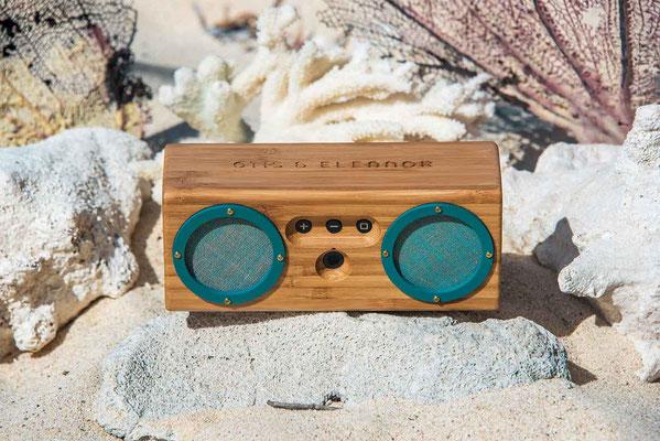 Designer Bluetooth Speaker in den Sommerferien