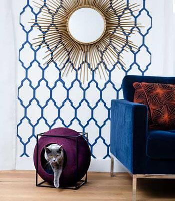 Meyou Le Cube   -   Das einzige Katzenbett mit Stil