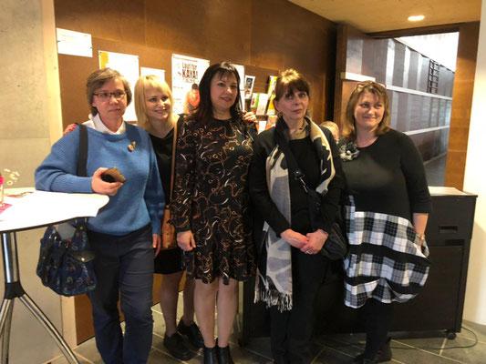 Die Gruppe bei der Vernissage in Herzogenaurach, Mai, 2019
