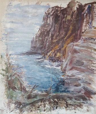 """Kap Hoboj"", Acryl, 60x70, verkauft"