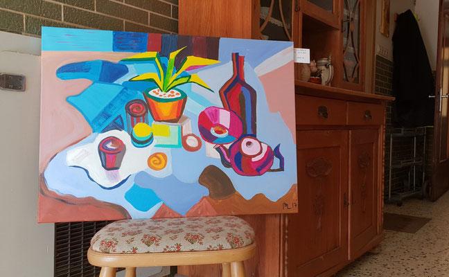 Stillleben nach Matisse, Foto von Alla Werr
