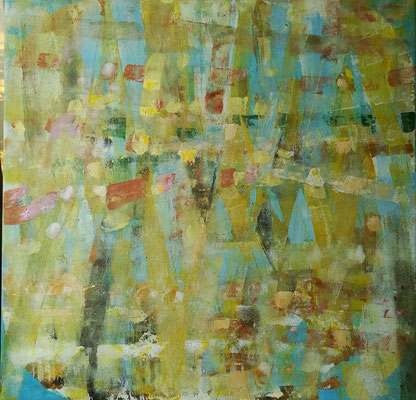 Abstrakt, Herbst-01, Acryl, 80x80, € 200,00