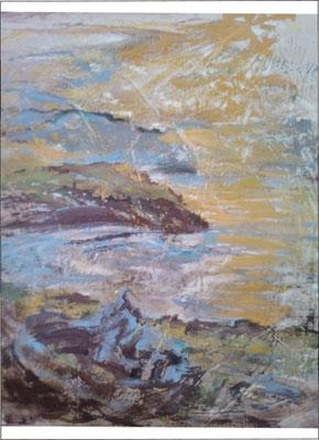 """Geblendet"", Acryl, 50x65, verkauft"