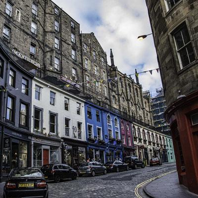 Edimburgo - Victoria Street