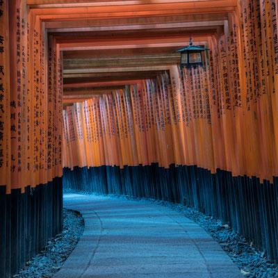 Il Fushimi-Inari a Kyoto