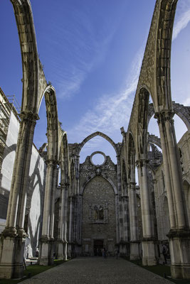 Lisbona - Convento do Carmo - 1