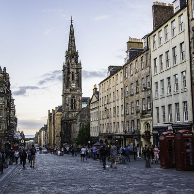 Edimburgo - Royal Mile