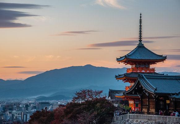 Vista dal Kiyomizu-dera