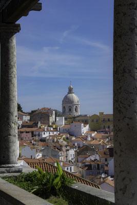Lisbona - Miradouro das Portas do Sol