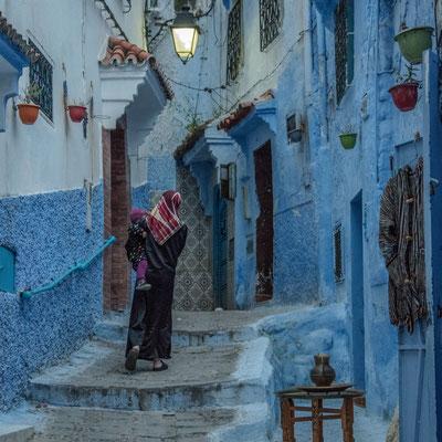 L'azzurro di Chefchaouen