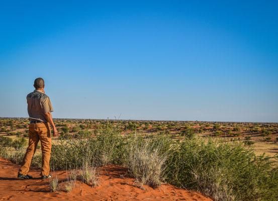 La nostra guida nel Deserto del Kalahari