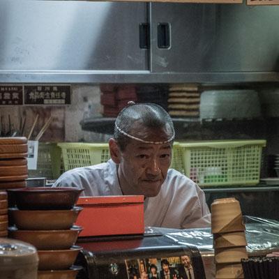 il nostro Chef ad Omicho Martket
