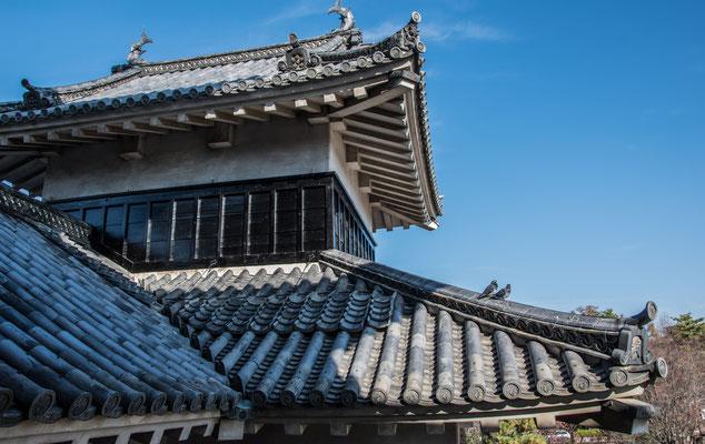 Dettagli del Castello di Matsumoto