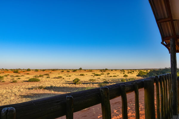Vista dal Bagattelle Kalahari Game Ranch