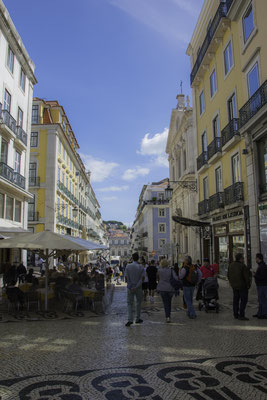 Lisbona - Rua Garrett - 2