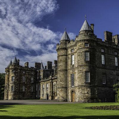 Scozia - Holyrood Palace ad Edimburgo