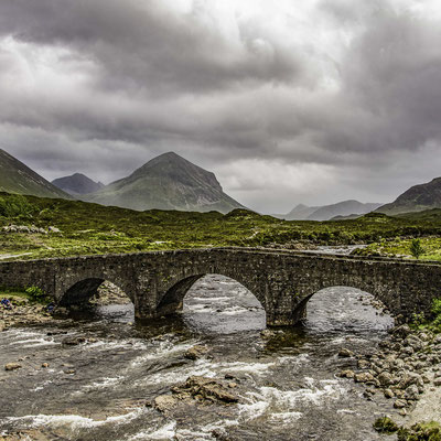 Scozia - Sligachan Bridge