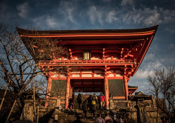 Porta d'ingresso del Kiyomizu-dera