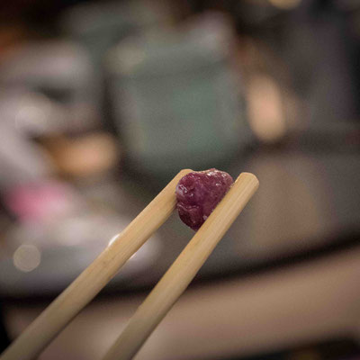 Cuore di pesce freschissimo da Sushi Zanmai