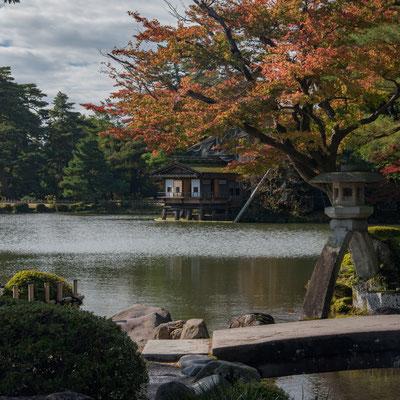 Splendidi paesaggi al Kenroku-en di Kanazawa