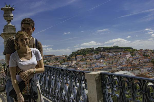 Lisbona - Miradouro de Sao Pedro de Alcantara - 3