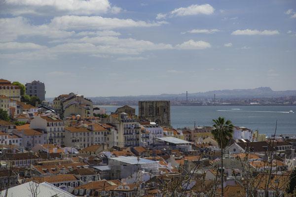 Lisbona - Miradouro de Sao Pedro de Alcantara - 1