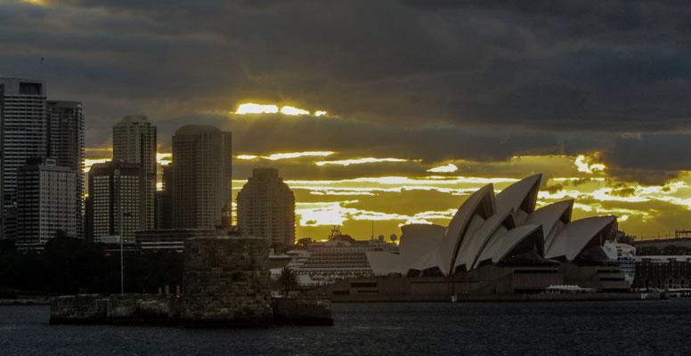 Il traghetto da Manly a Sydney (F1)