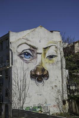 Street Art in Rua de Sao Bento