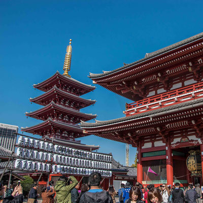 Il Senso-ji ad Asakusa
