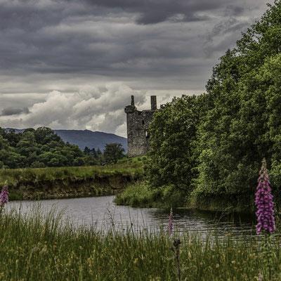Le rovine del Kilchurn Castle