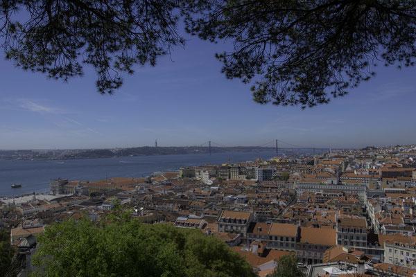 Lisbona - Panorama sulla città