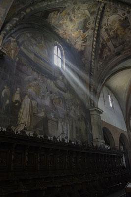 Abbazia di Chiaravalle - Affreschi
