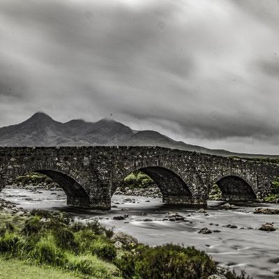 Scozia - Sligachan Bridge sull'Isola di Skye