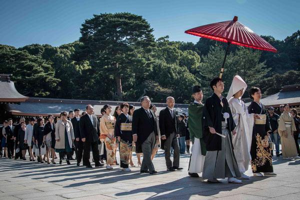 Meiji Jingu - Matrimonio Shinto