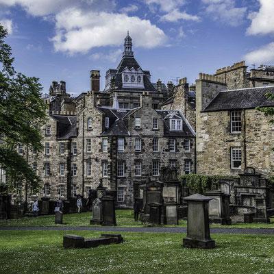 Edimburgo - Geryfriars Kirkyard