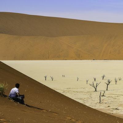 Namibia - il Pan di Deadvlei